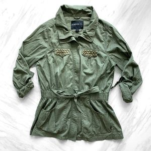 F21 Army Jacket